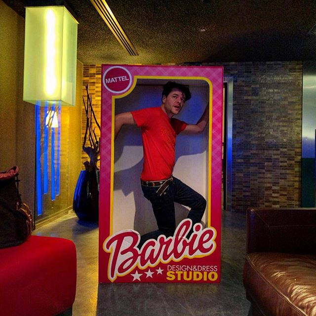 Get your #aguayobarbie now! #neverbored #sellout #merchandising #whereisken