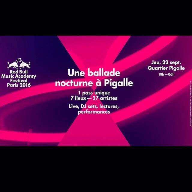Coucou mes amours! Une ballade nocturne à Pigalle! Ce soir à Boule Noire! #rbmaparis #bisous