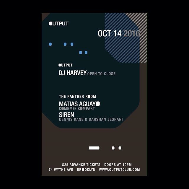 New York!! Tomorrow night we make party at Output w/ Panther and DJ Harvey 🍾💋 #newyork