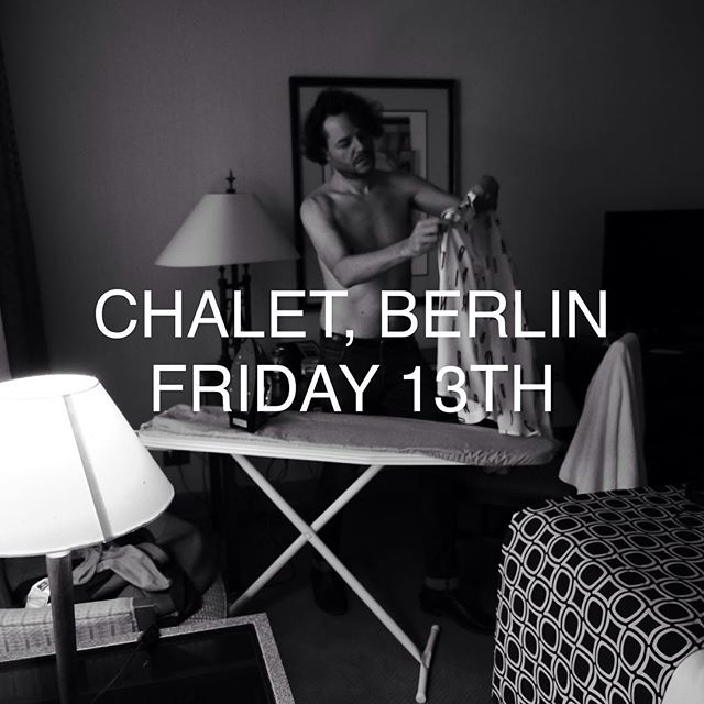Getting ready.. @chaletclubberlin this #fridaythe13th 👻
