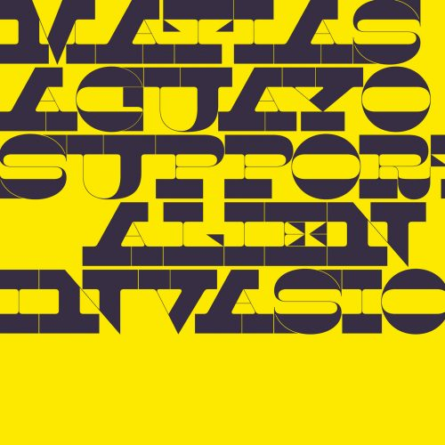 Front cover of Support Alien Invasion album